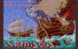 Armada Atari ST Title screen
