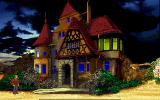 Call of Cthulhu: Shadow of the Comet DOS Miss. Picott's house at night