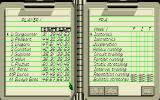 The Carl Lewis Challenge Atari ST Training menu