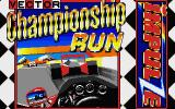 Championship Run Atari ST Title screen