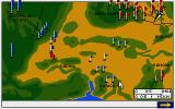The Charge of the Light Brigade Atari ST Map over the battlefield