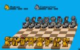Chess Player 2150 Atari ST A set of more humorous chess pieces