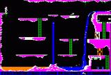 Conan: Hall of Volta Apple II Level 4 - Watch for the geysers!