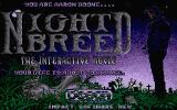 Clive Barker's Nightbreed: The Interactive Movie Atari ST Title screen