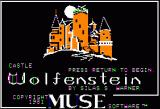 Castle Wolfenstein Apple II Title Screen