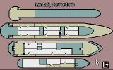 Cruise for a Corpse Atari ST Map over the ship