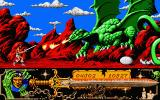 Deathbringer Atari ST A large fire breathing dragon