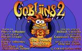 Gobliins 2: The Prince Buffoon Atari ST Title screen
