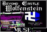 Beyond Castle Wolfenstein Apple II Title Screen