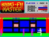 Kung-Fu Master ZX Spectrum Player kicks a bit too early.