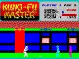 Kung-Fu Master ZX Spectrum A knife thrower throws a knife.