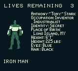 Iron Man / X-O Manowar in Heavy Metal Game Boy Choose either Iron Man or X-O Manowar