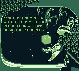 Iron Man / X-O Manowar in Heavy Metal Game Boy I lost all my lives. Evil has triumphed.