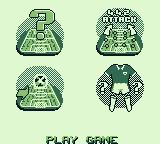 Elite Soccer Game Boy Game play menu
