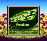 International Superstar Soccer Game Boy Title screen (Super Game Boy)