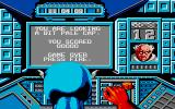 Captain America in: The Doom Tube of Dr. Megalomann Atari ST Game over
