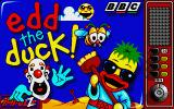 Edd the Duck! Atari ST Title screen