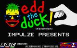Edd the Duck! Atari ST Second title screen