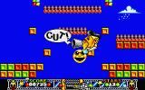 Edd the Duck! Atari ST Game over