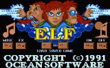 Elf Atari ST Title screen