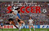 Emlyn Hughes International Soccer Atari ST Title screen