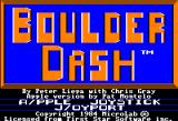 Boulder Dash Apple II Title screen