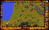 Vengeance of Excalibur Atari ST Moving on the map
