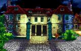 Call of Cthulhu: Shadow of the Comet DOS The old Hambleton house at night