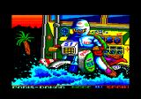Paris-Dakar Amstrad CPC Title screen