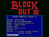 BlockOut II Windows Score details