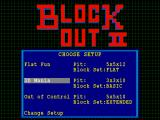 BlockOut II Windows Standard setups