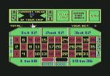 Vegas Gambler Commodore 64 About to play roulette.