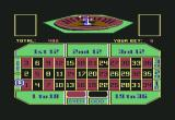 Vegas Gambler Commodore 64 I bet on 0 green and have spun the wheel.