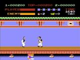 Kung-Fu Master NES Knife thrower - that's gotta hurt!
