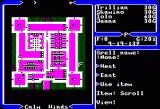 Ultima V: Warriors of Destiny Apple II Map view