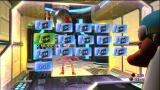 'Splosion Man Xbox 360 Level select menu. The cakes are hidden collectables on each level.