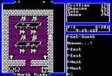 Ultima V: Warriors of Destiny Apple II Sitting down for a snack.