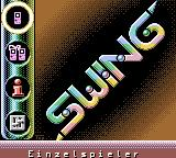 Marble Master Game Boy Color Title screen and main menu