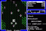 Ultima V: Warriors of Destiny Apple II Battle begins.