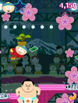 South Park: Mega Millionaire J2ME Cartman with a tree on his head tries not to hit the sumo