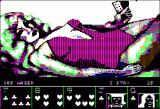 Strip Poker: A Sizzling Game of Chance Apple II Melissa in a teddy