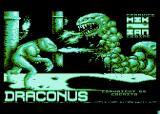 Draconus Atari 8-bit Splash Screen