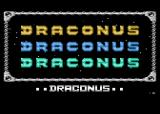 Draconus Atari 8-bit Title Screen