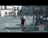 "Assassin's Creed II Windows One of the ""eavesdropping"" missions. Don't get too close, don't stay too far, you know what I'm saying?"