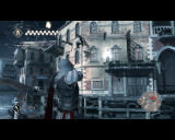 Assassin's Creed II Windows Fireworks are exploding in the sky, and Ezio is training his pistol-shooting skill on dummies