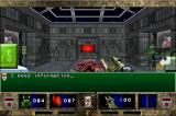 DOOM II RPG iPhone That red terminal is your way into cyberspace.