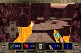 DOOM II RPG iPhone You can actually fall down into the lava.