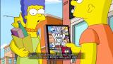 "The Simpsons Game Xbox 360 Marge caught Bart buying ""Grand Theft Scratchy."""