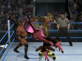WWE Smackdown vs. Raw 2010 PlayStation 2 Four wrestlers