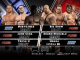 WWE SmackDown vs. Raw 2010 PlayStation 2 Six wrestlers